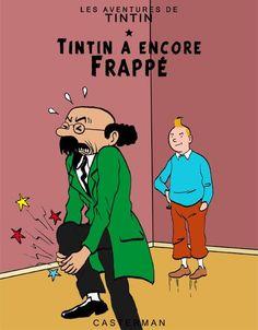 Les Aventures de Tintin - Album Imaginaire - Tintin a encore Frappé