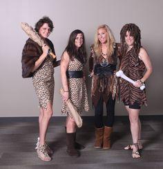 #Fossil Halloween 2013 - Cave Ladies YEP that's us!!