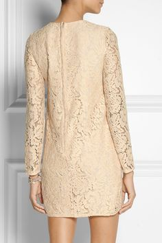 Needle & Thread Embellished lace mini dress NET-A-PORTER.COM