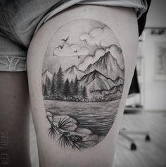 thigh-tattoo-idea-39-Alex Tabuns
