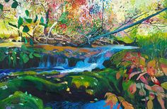 """Black Rock Creek"" from Ellen Dittebrandt's wonderful life of color #dittebrandt"