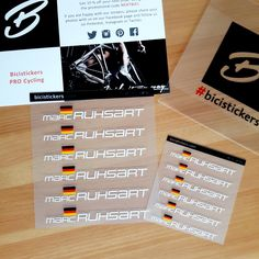 Bicistickers Pro Cycling Bicistickers Auf Pinterest
