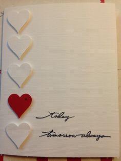 Simple DIY Valentine's Day Card