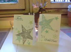 Workshop Nachlese und 2 Weihnachtskarten Christmas Post, Christmas Holidays, Christmas Cards, Stampin Up Karten, Shops, Partys, Workshop, Blog, Paper Crafts