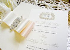 Art Deco | Luxury Wedding Stationery | Wanderlust Scotland
