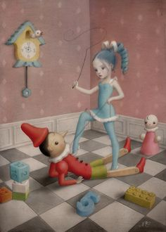 AFA NYC | Nicoletta Ceccoli – Play With Me Artwork