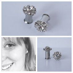 Hey, I found this really awesome Etsy listing at https://www.etsy.com/listing/130708046/diamond-gauges-plugs-rhinestone-0g-2g-4g