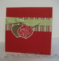 Sunny Stampin' Smiles: Holiday Stamp Camp Projects