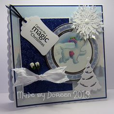 Doreens Dream: The Snowman & The Snowdog/ Father Christmas from #crafterscompanion