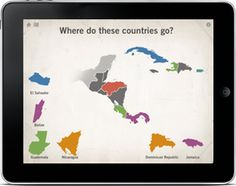 Introduction to Geography: Montessori style on the iPad. My two and three year old love this.