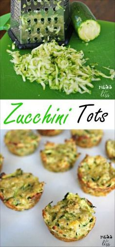 My kids don't like veggies but they loved these zucchini tots! So simple to make, this recipe is a keeper!