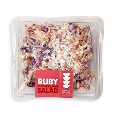 Ruby Coleslaw Salad 500g Coleslaw Salad, Side Salad, Vegetable Salad, Chicken Salad, Salad Recipes, Oatmeal, Potatoes, Herbs, Beef