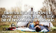 "Love and Theft ""There's a little bit of devil..."" What Southern girl doesn't have a hidden wild side with the good girl?"
