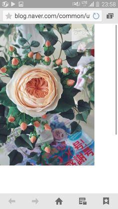 #David Austin rose #Juliet rose #sugarflower #sugar flower class #sugarcraft #sugar rose #gumpaste #korea