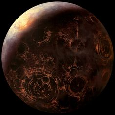 Coruscant, home of a planet-wide city and seat of the galactic government (12,240 km, Star Wars)