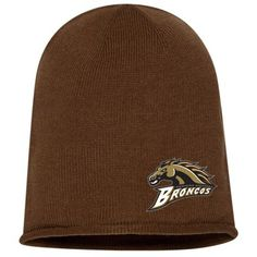 Custom Embroidered Bronco Beanie