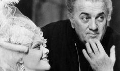 cd7847beb1c Tina Aumont and Federico Fellini on location The Script