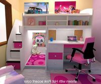 Download Loft Bed With Stairs And Desk