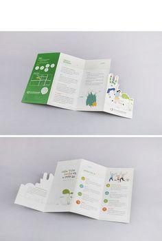 공주시정신건강복지센터-아동 청소년 정신건강서비스 리플릿 > Leaflet   혜성디자인 Mailer Design, Pamphlet Design, Leaflet Design, Booklet Design, Book Design Layout, Stationery Design, Design Design, Brochure Indesign, Template Brochure