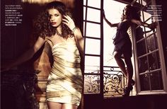 Kenton mag - USA  2012  Picture by Mario Miotti  Style by Mélanie Pérégo    Dress by Claudine Ivari