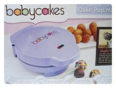 New BABYCAKES CAKE POP MAKER - BAKER Donut Holes on a Stick Nonstick PURPLE | eBay