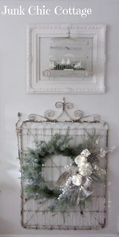 Junk Chic Cottage: New Armoire and Living Room Wall Color