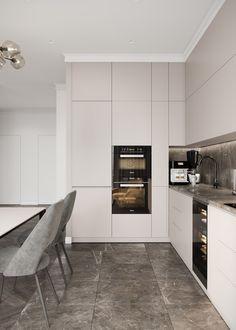 Kitchen Room Design, Home Room Design, Kitchen Cabinet Design, Modern Kitchen Design, Living Room Kitchen, Interior Design Kitchen, Kitchen Decor, Kitchen Ideas, Apartment Interior Design