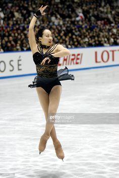 Mao Asada of Japan competes in the Women's Singles Free Program. Sport Gymnastics, Figure Skating Dresses, Sport Girl, Ice Skating, Skate, Athlete, Sporty, Japan, Running