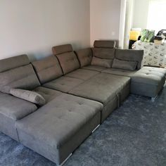 17 Stories Thom Corner Sofa & Reviews | Wayfair.co.uk Corner Sofa Living Room Layout, Living Room Sofa, Terrace, Beautiful Homes, Sofas, Couch, Furniture, Home Decor, Style