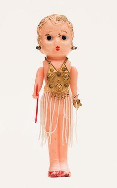 VINTAGE+CELLULOID+Flapper++Kewpie+Doll+Made+in+by+Frankiesteinz,+$55.00