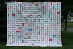 Window pane quilt