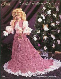 Barbie, Crochet Collector Costume Vol. 65
