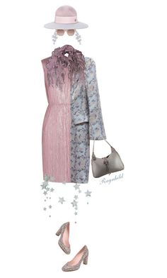 """""""Shine"""" by ragnh-mjos ❤ liked on Polyvore featuring Gucci, Carolee, Christian Lacroix, Kate Spade, STELLA McCARTNEY, Maison Michel, women's clothing, women's fashion, women and female"""