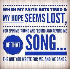 Bethel music- we dance steffany frizzell lyrics