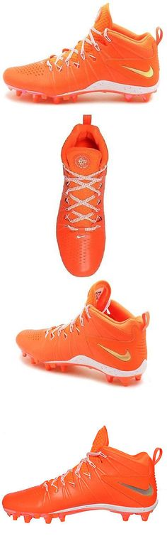 Footwear 159154: Nike Huarache 4 Lx Le Lacrosse Orange White Metallic Mens Size 13 New Never Worn -> BUY IT NOW ONLY: $35.99 on eBay!