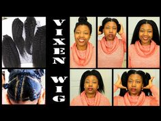 Vixen sew in WIG !! 5Min SELF INSTALL   Abbyliciouz - YouTube