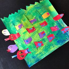 "Omg how stinkin cute are these little snakes slithering through the grass? Thank you @emily_art_teacher_smile for the adorable first grade weaving lesson! I have always had a hard time getting my kiddos to ""relate"" to weaving... but this way they were SO excited about collaging their snakes and making textured paper for their grass that the weaving was just the icing on the cake! Also thanks to @cassie_stephenz for her easy tutorial with how to get the kiddos to cut their own loom. All my…"