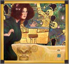 Painting by Gustav Klimt.