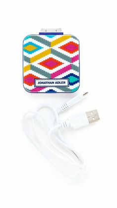 On-the-Go Charger: She's always complaining about how she has no battery life, and this colorful charger ($28) is the solution no matter where she is.