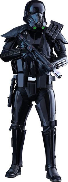 Black Armored Storm Trooper