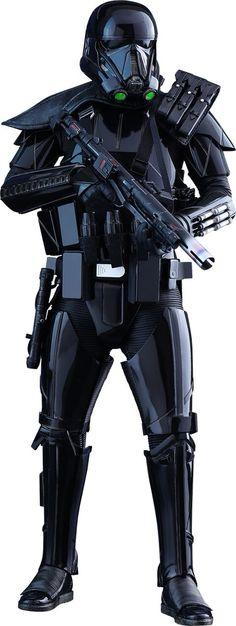 Black Armored Storm Trooper