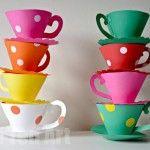 Paper Teacup Printable & Tea Party Games