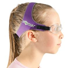 bf3a077df98 Adjustable Frogglez Swimming Goggles - Purple Summer Pool Party