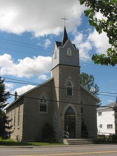 Ottawa (église St. Catherine), Ontario, Canada (45.232422, -75.471279)