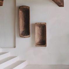 Ana Degenaar: Hidden Family Villages in Formentera, Spain Ibiza, Sustainable Furniture, Interior Design Studio, Swedish Interior Design, Perfect Sense, Candle Sconces, Natural Stones, Minimalism, Wall Lights