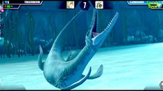 Playing Jurassic world the game. This time have 3 fights, one of them is with water dinosaurs. Two victories and one defeat. Game Jurassic World, Dinosaurs, Victorious, Games, Gaming, Plays, Game, Toys