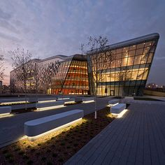 MODERN ARCHITECTURE | ICE Kraków Congress Centre| http://www.bocadolobo.com/en/index.php #modernarchitecture #architecture
