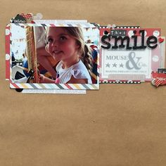 My Spaced Out challenge layout. I went with kraft space rather than whitely space!!😉#paperissues #scrapbooking #disneyscrappers #simplestories