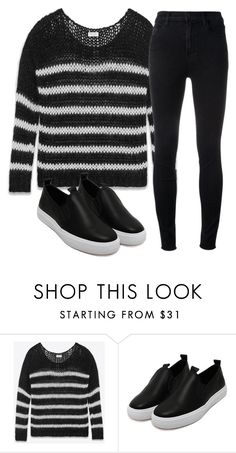 """Untitled #781"" by aaisha123 ❤ liked on Polyvore featuring Yves Saint Laurent, J Brand, men's fashion and menswear"