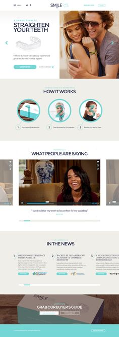 Smile Care Club • Home Page by Shane Helm